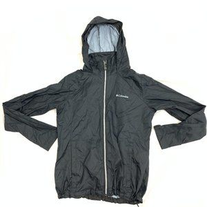 Columbia Fold Up Travel Outdoor Light Rain Jacket
